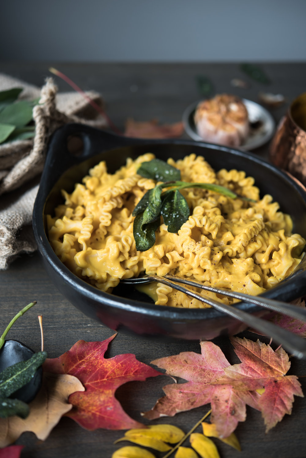 roasted garlic buttercup squash chickpea pasta-8561.jpg