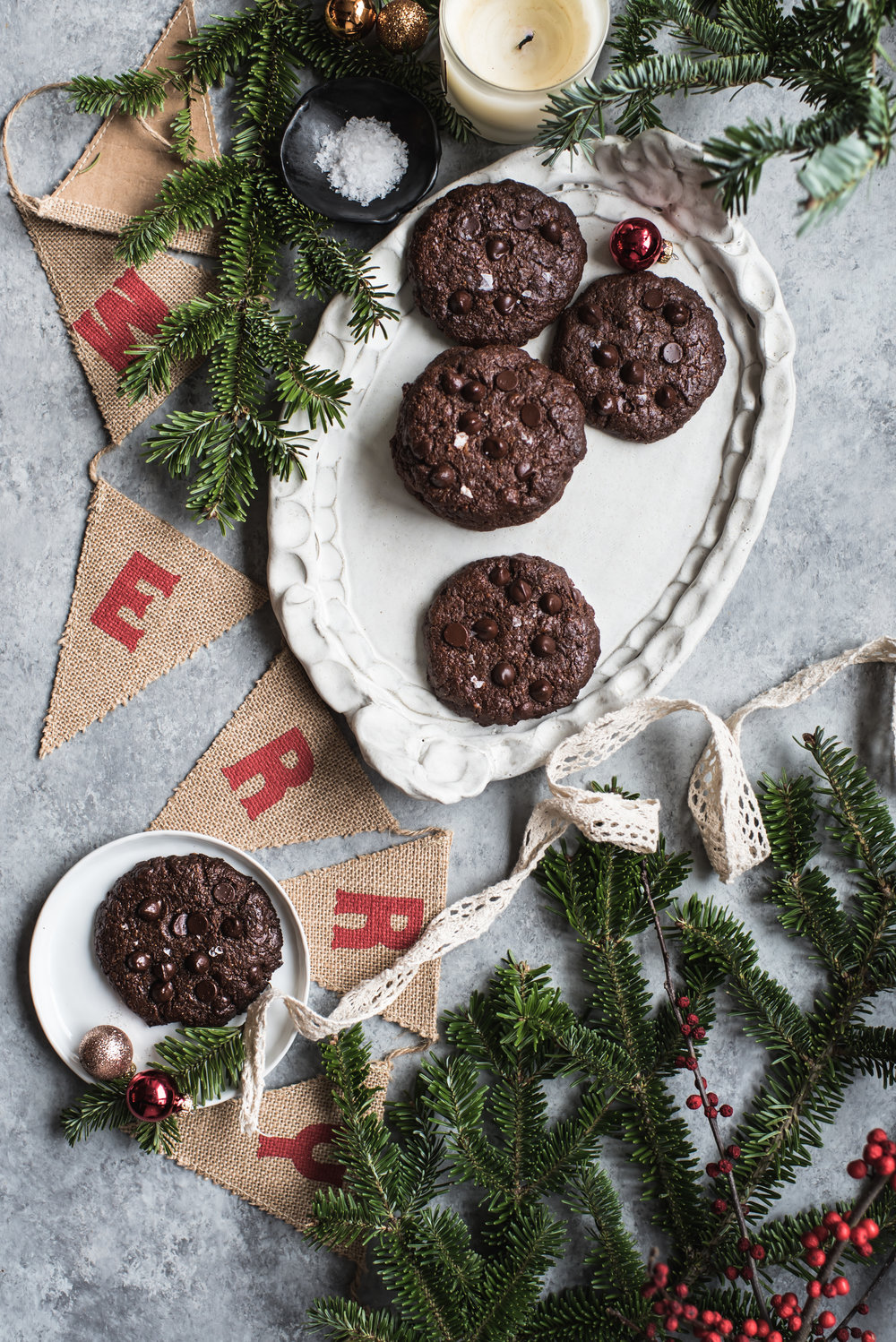 double chocolate brownie cookies paleo-9787.jpg