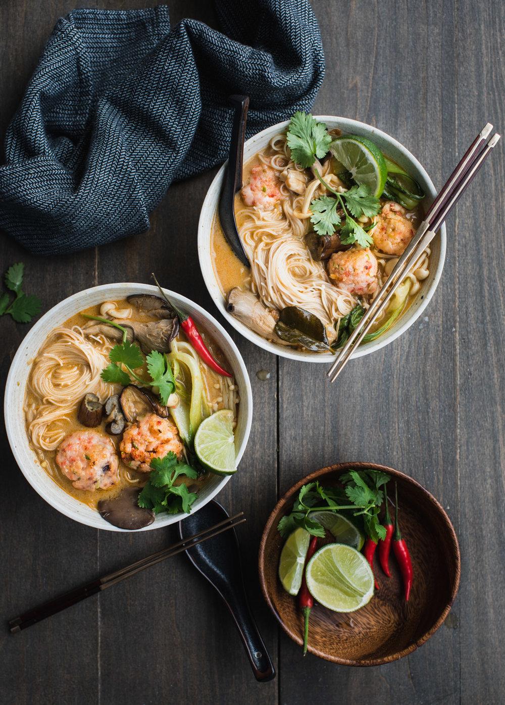red thai curry noodle soup shrimp balls-7671.jpg