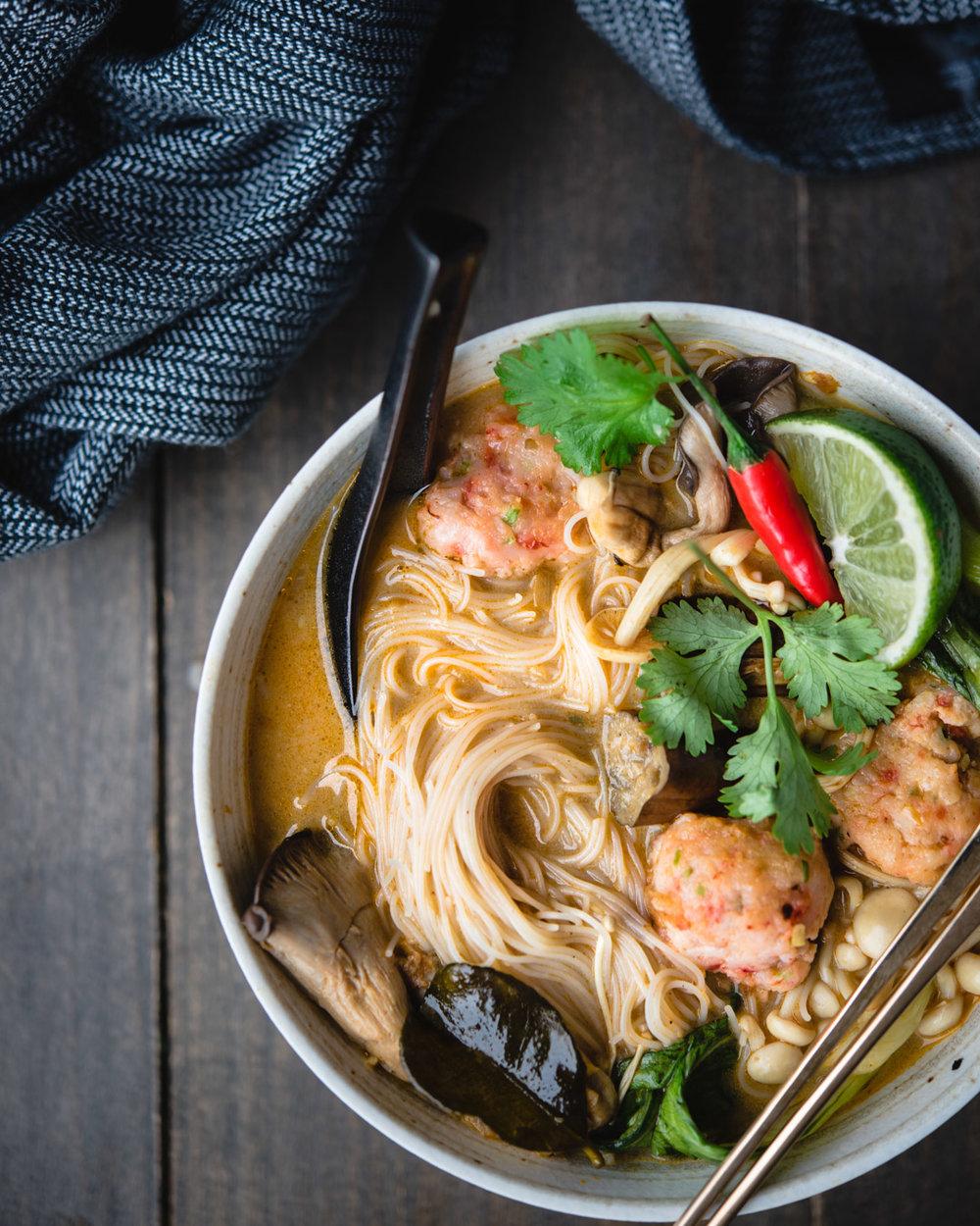 red thai curry noodle soup shrimp balls-7699.jpg