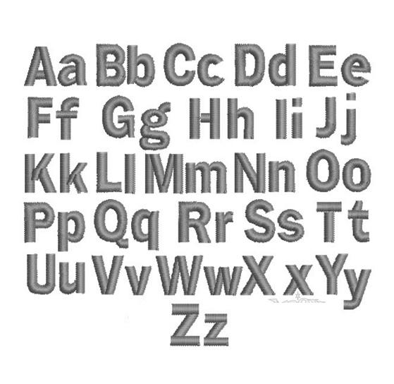 Block Font -