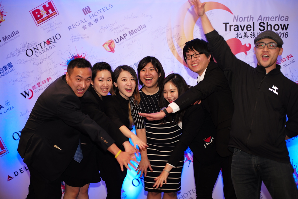 Photos from: North America Travel Show