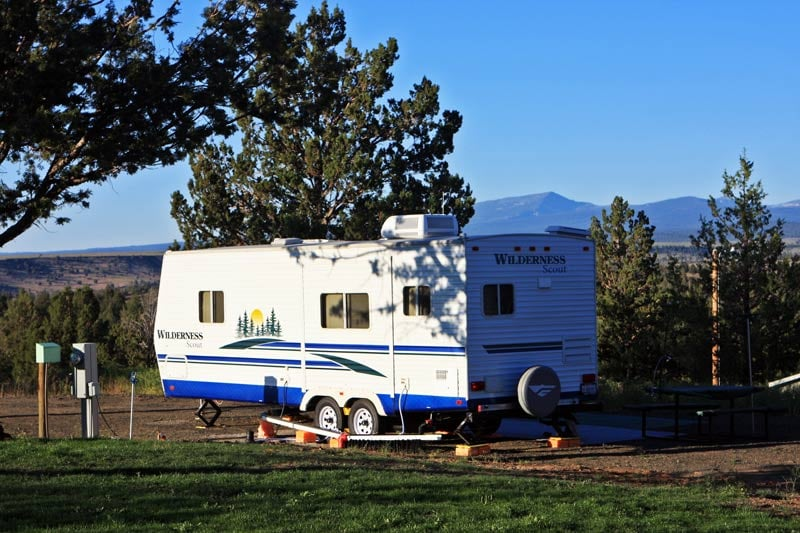 Scenic views are all around our beautiful Northern California RV Park