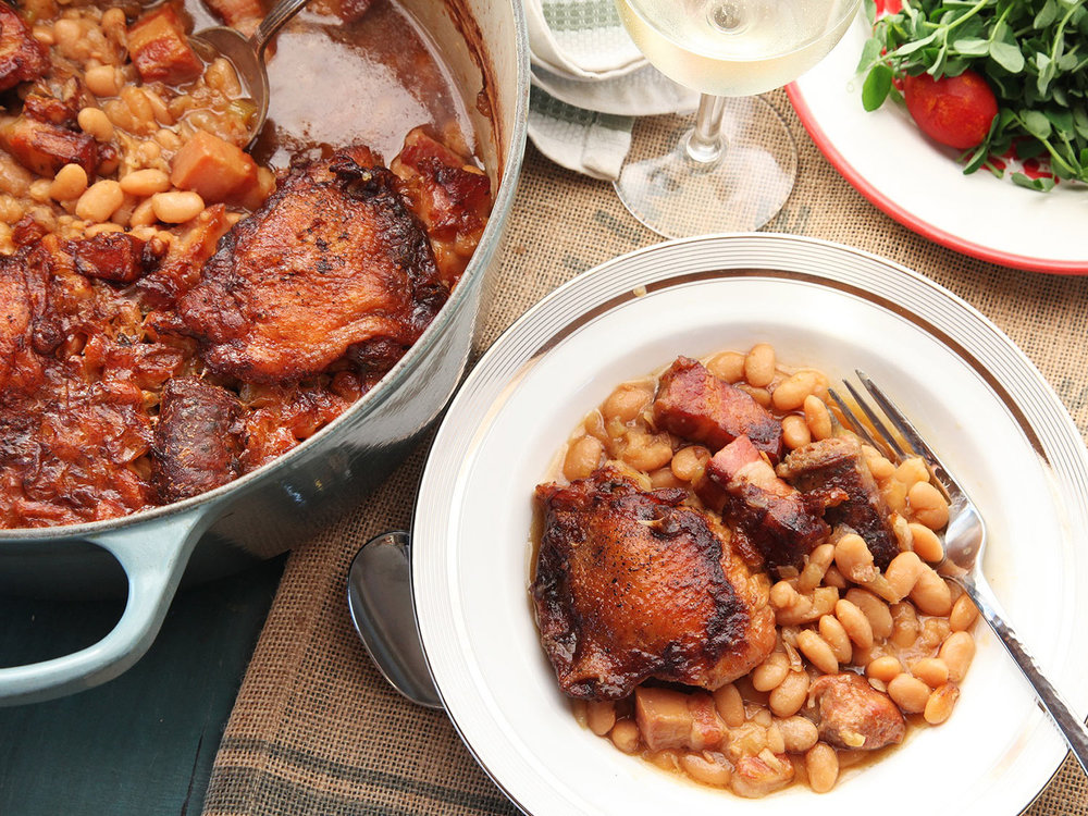 Try a traditional French cassoulet in Castelnaudary.