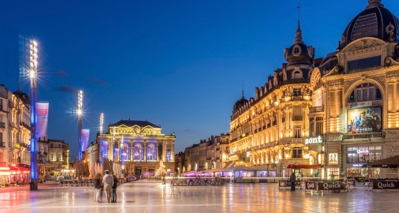 Experience the city vibe of Montpellier.