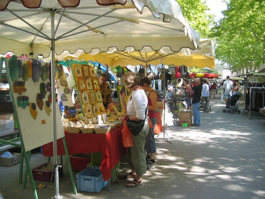 Bedarieux market day