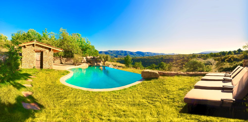 Private pool in south of france rental