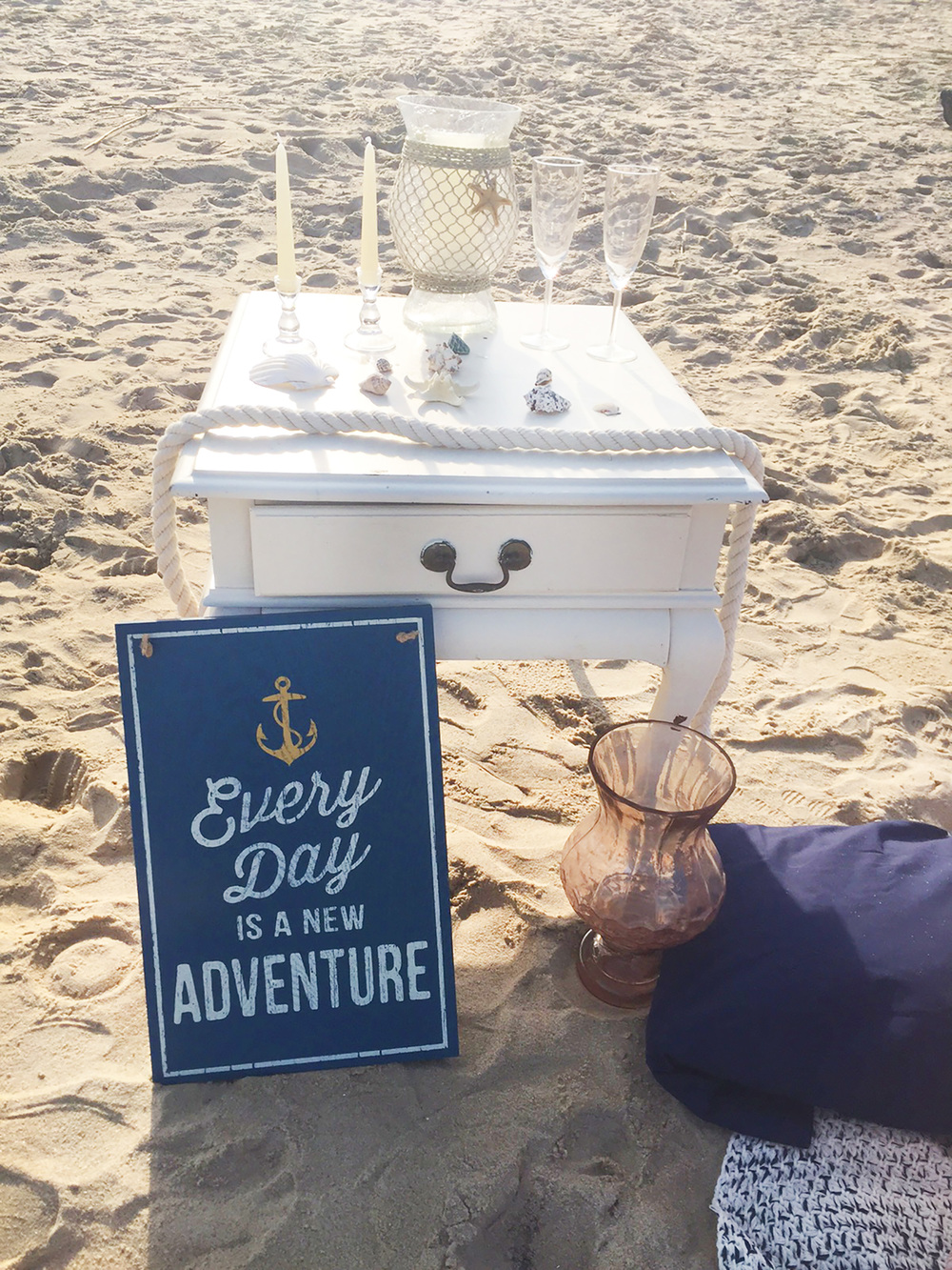 Bethany Beach Proposal | Enchanting Events and Design