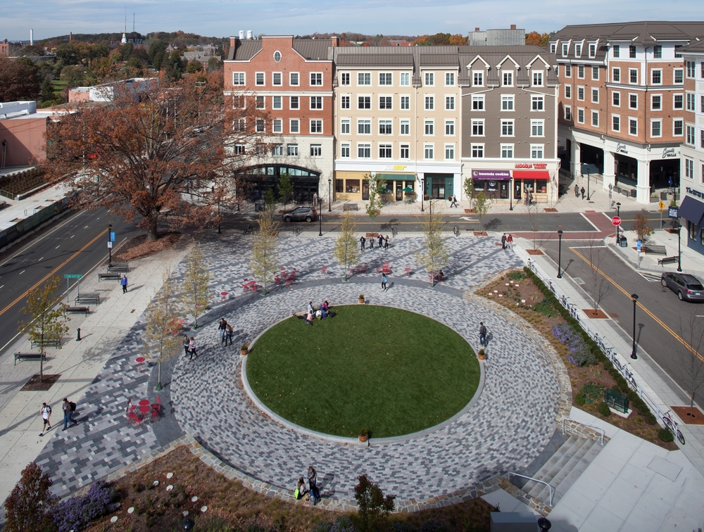 Mansfield Town Square Credit: Deroches Photography