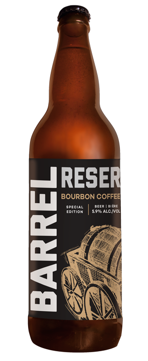 BOURBON COFFEE STOUT - DATE RELEASED: May 27, 2017Style: StoutBody: FullAroma: Belgian chocolate, fresh espresso, oak, bourbon and maraschino cherriesTaste: Oak, dark chocolate, espresso, dry dark cherry finishABV: 5.9%  -  IBU: 28