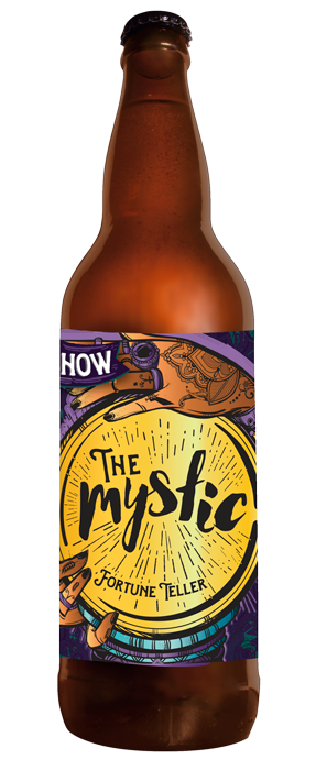 THEMYSTIC FORTUNE TELLER - DATE RELEASED: May 19, 2016 and April 22, 2017Style: GruitBody: LightAroma: Lavender and citrusTaste: Blend of citrus and floral notes, raw honey, hint of sweetnessABV: 5%  -  IBU: 12This ancient form of brewing uses several plants and herbs to create an array of aromatic and flavourful brews without the use of hops. This refreshing brew is based on a spring meadow with ingredients including lavender, juniper berries, honey, orange peel and yarrow.
