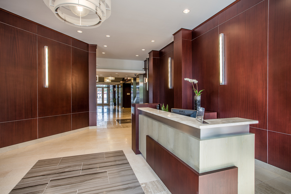 Beautifully Detailed Lobby and Corporate Presence