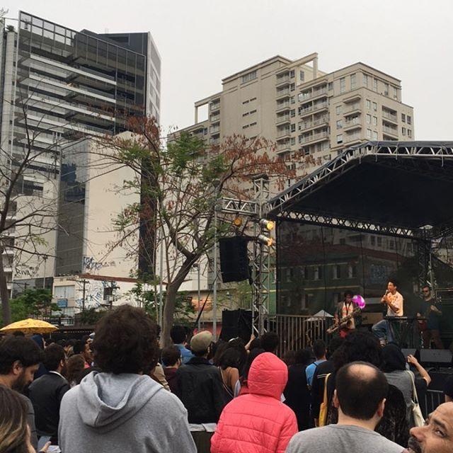 Cidreira barbarizando no festival #foradacasinha