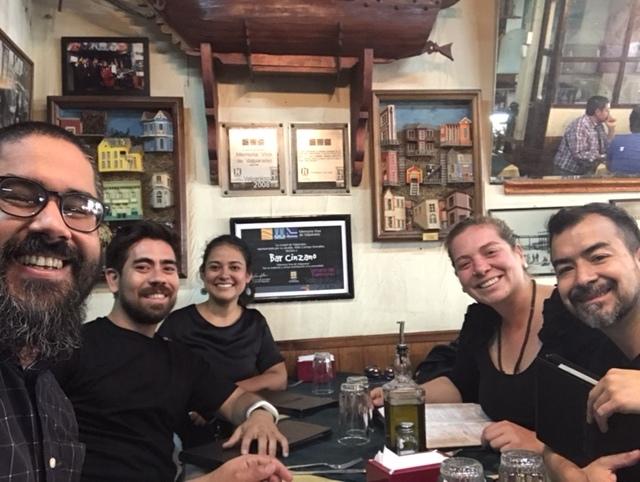 Equipo fundador de Latinoamérica Creativa