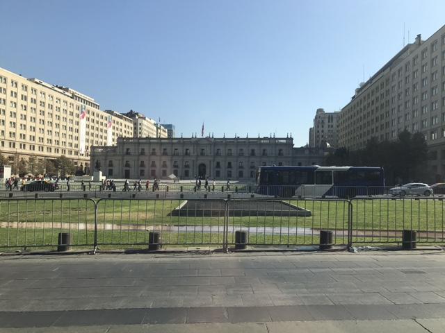 Palacio de La Moneda, escenario principal del golpe del 11 de septiembre de 1973