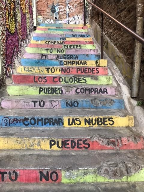 Parte de la letra de la canción Latinoamérica de Calle 13
