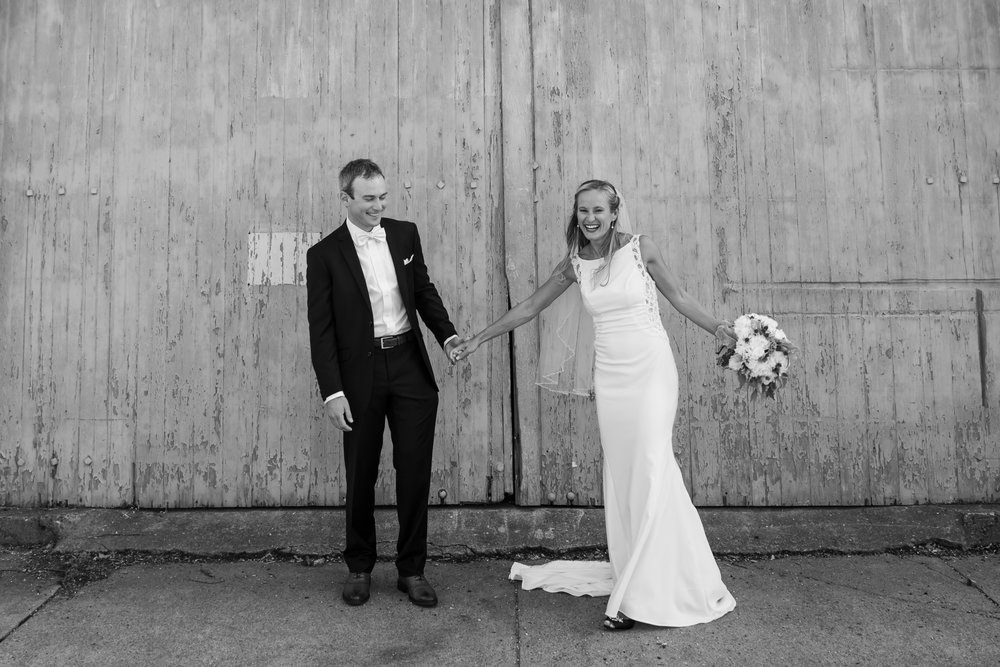 Cheers to: Venue:  Herreshoff Museum    Flowers:  Stop & Shop    Catering:  Compton Clambake    Entertainment:  GQ and the Lady    Officiant:  Charlie Calvaconte    Hair & Makeup:  Hair, Heart and Soul    Cake: Sister of the Groom