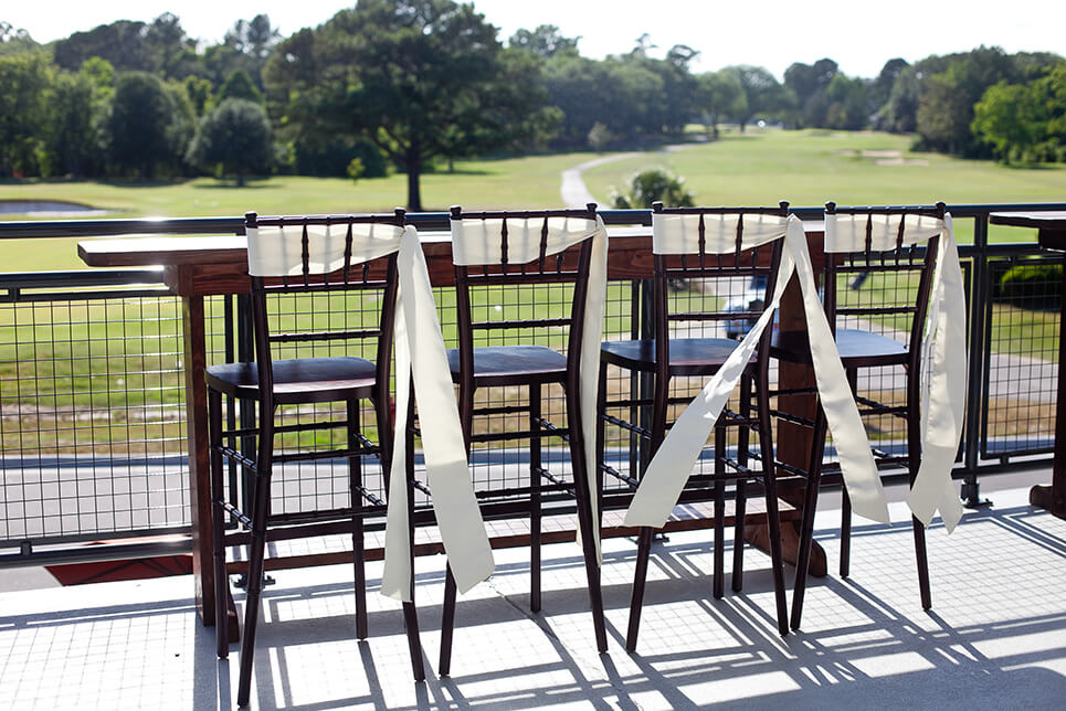 Snee Farm Clubhouse Balcony