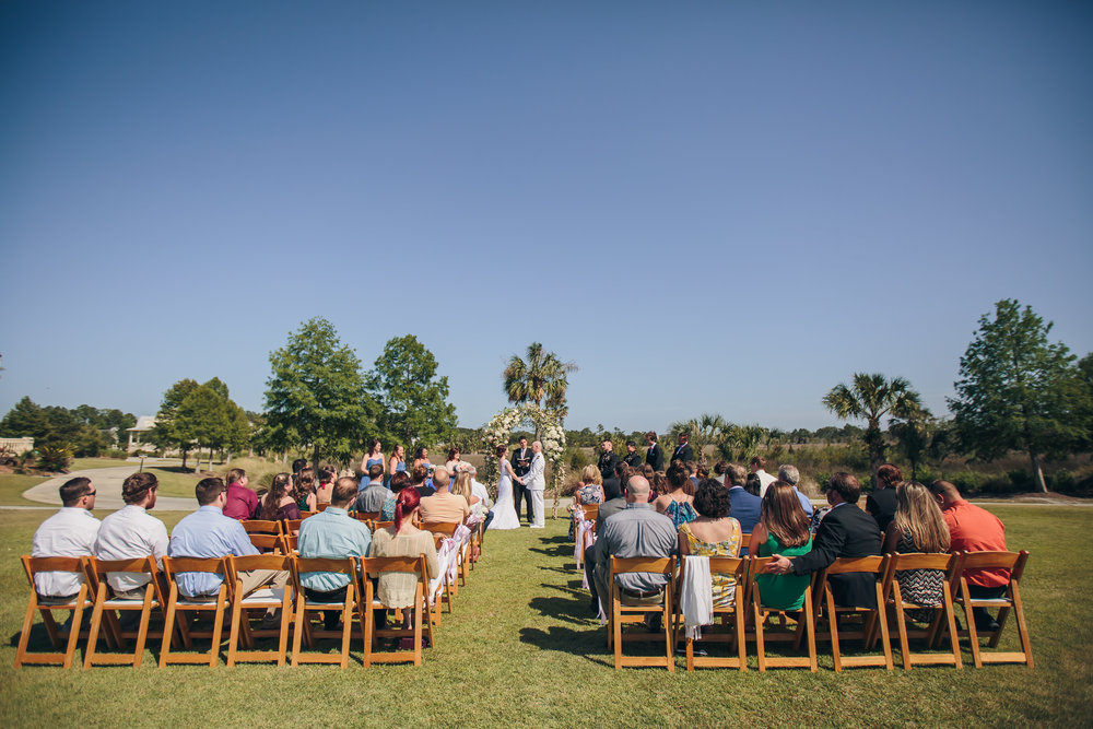 RiverTowne Country Club | Wedding Ceremony Lawn