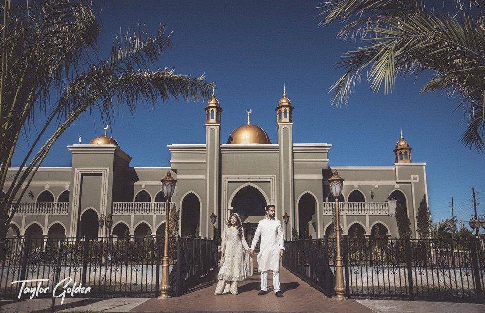 Houston Muslim Wedding Photos
