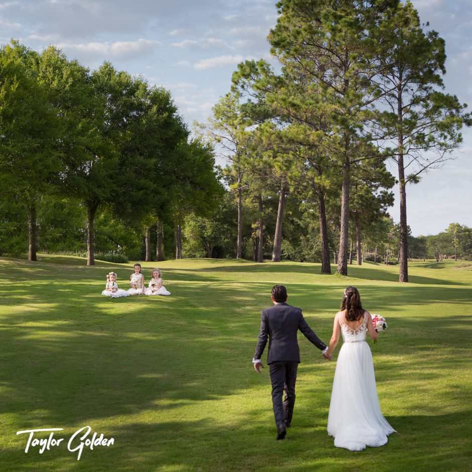Houston Wedding Photography Golden White