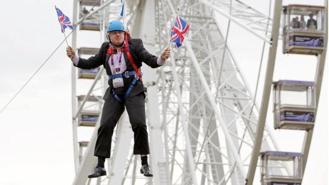 Churchill, Thatcher, Blair.....Johnson?