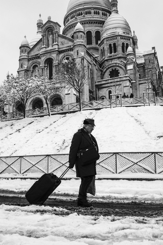 Montmartre, Paris - Février 2018.
