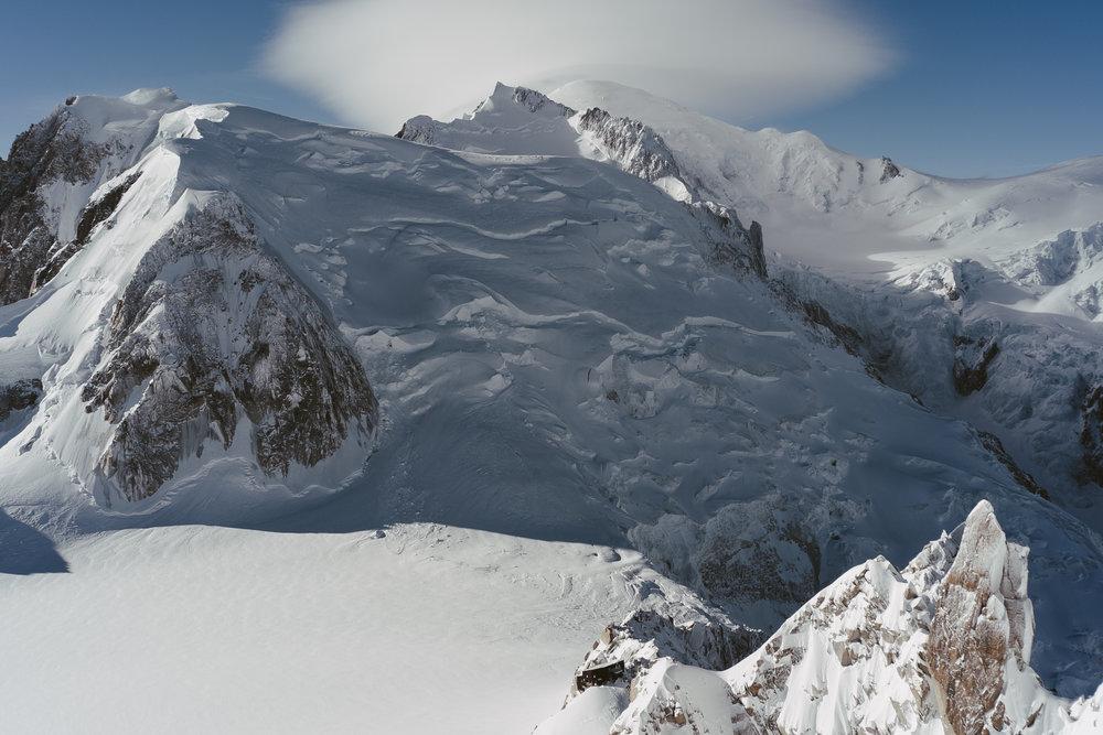 Les trois Monts et les Cosmiques, Chamonix. 2017