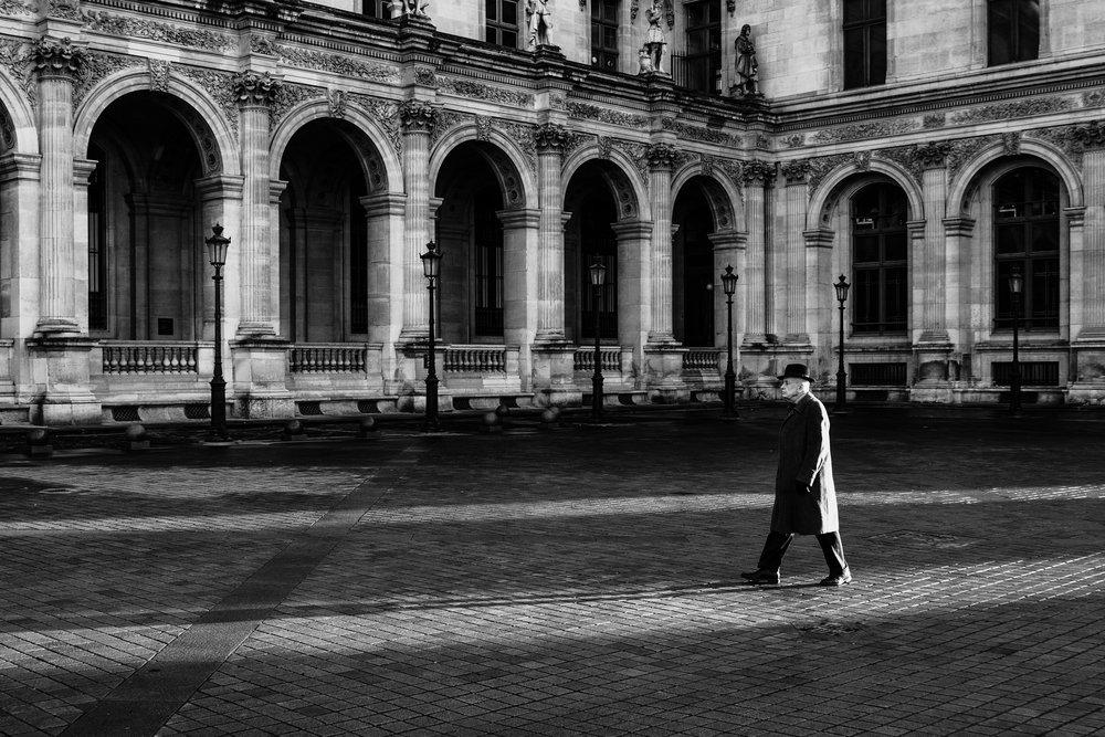Derniers rayons sur le Louvre, Paris. 2017
