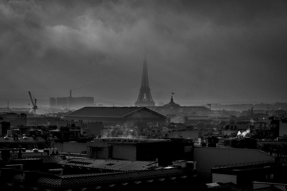 Vue de Paris, 2017.