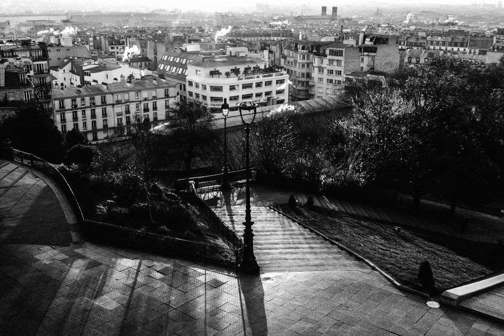 Montmatre un matin de Printemps, Paris. 2018