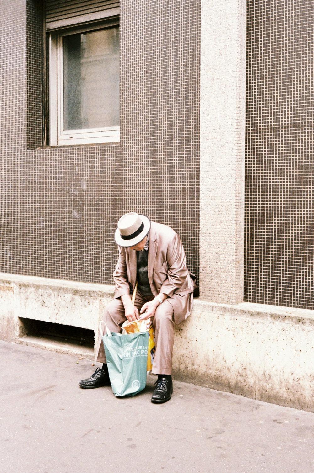 L'homme au chapeau de Barbès, 2015.
