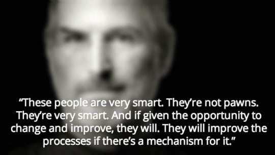 Steve Jobs quote/image via leanblog.org.
