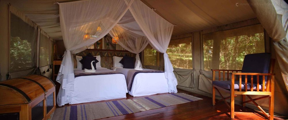 Sarova Tent Game Camp in Masai Mara...