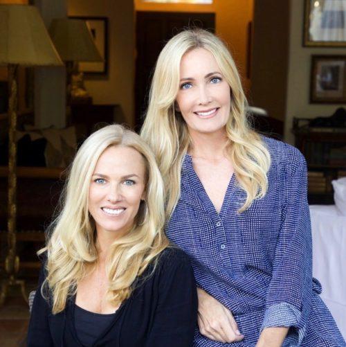 Helene Bry, left; Jenifer Byington, right