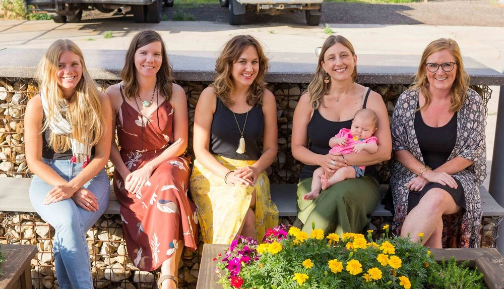 Team:    Rachel Hartgen, Co-Founder and Managing Director    Andra Breazeale, Co-Owner and Associate Director    Stephanie Vail, Project Manager/Product Designer    Alex Boehler, Outreach Associate    Kandace McVickar, Creative Director (not pictured)    Dana Smith, Co-Founder and Advisor