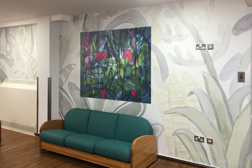 Tamsin Relly - Communal Lounge, Eileen Skellern 1, Maudsley Hospital