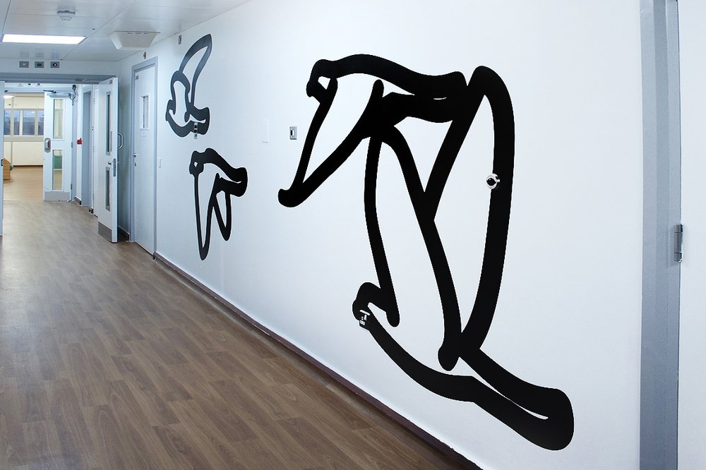 Julian Opie - Corridors, Eileen Skellern 1, Maudsley Hospital