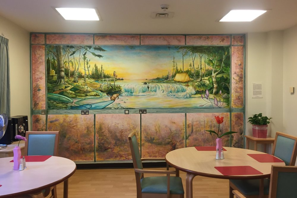 Michael O'Reilly - Dining Room, Garnet Ward, Highgate Mental Health Centre
