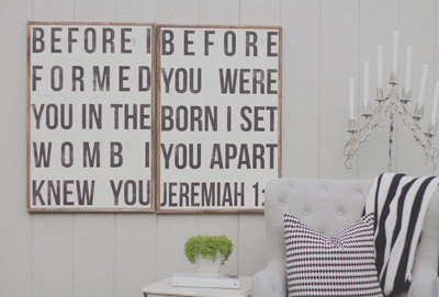 perfect neutral nursery decor.  can also be customized.