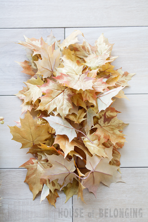 "a ""fast"" fall wreath tutorial"