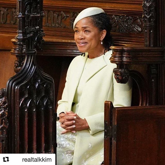 Can we just take a moment to honor this beautiful, strong woman (Meghan Markle's Mother, Doria Ragland) who sat alone, wistfully alone, a million miles from home -in a situation so foreign to her own life- with grace, dignity, poise, honor and deep love for the child she raised? THAT, is royalty.  Let's hear it for all the strong mamas of the world!  #RoyalWedding #LisaCole #RideOrDieMamas #SheGetsItFromHerMama