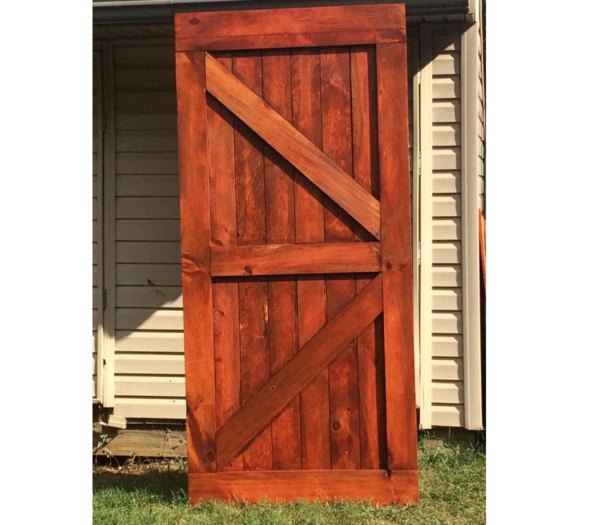 Seeing Double Z Barn Door