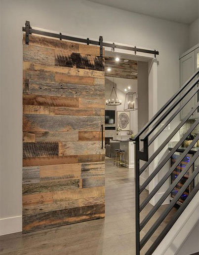 Reclaimed Stacked Barn Door Laelee Designs