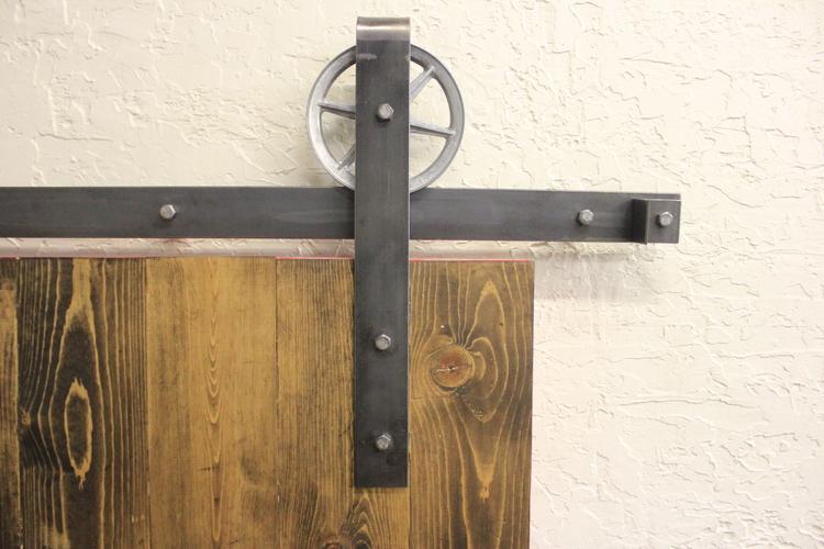 Double Door Vintage Barn Door Hardware Kit More Colors Available