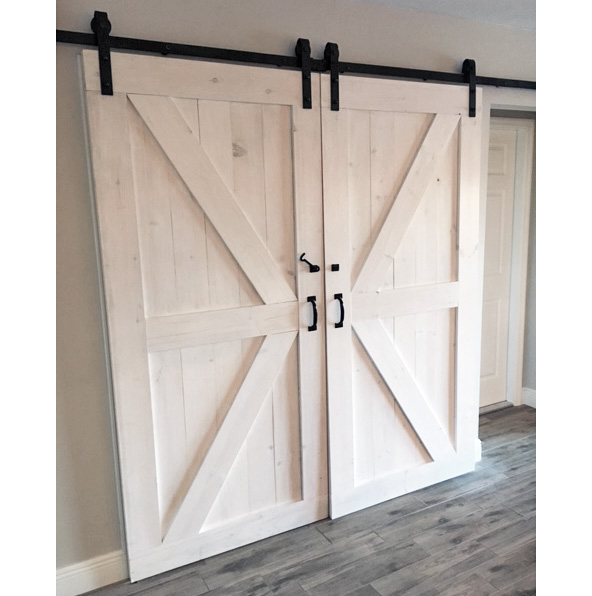 Charmant Seeing Double Z Barn Door