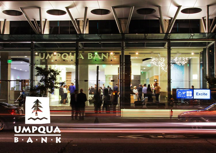 Umpqua Bank Launching San Francisco