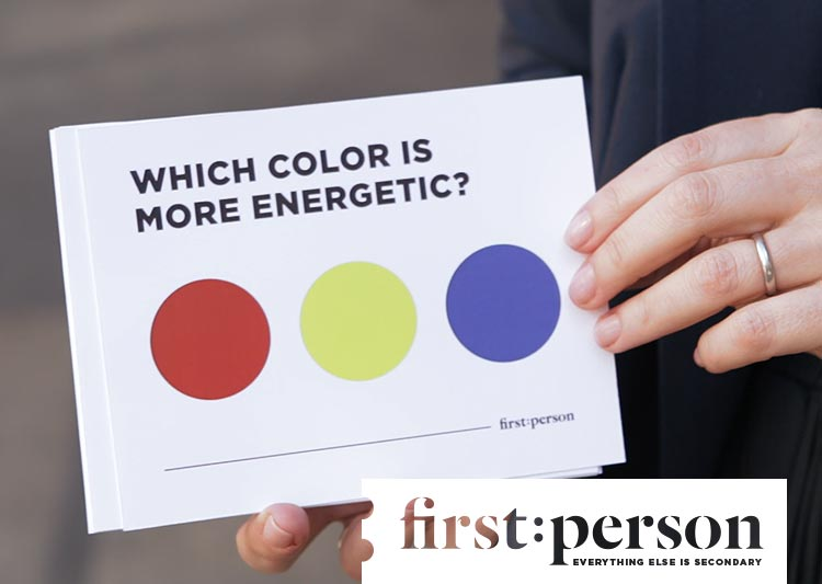 FIRST PERSON SERIES Episode 3 :: What's in a Color?