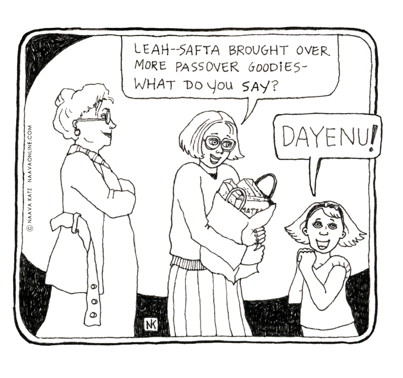 Naava Katz - Passover Cartoon - Dayenu.jpg