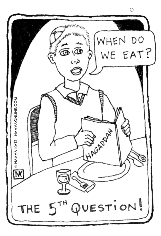 Naava Katz - Passover Cartoon - Fifth Question.jpg